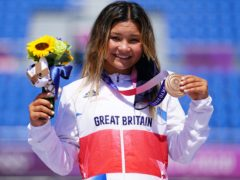 Sky Brown was crowned Great Britain's youngest Olympic medallist (Adam Davy/PA)