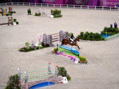 Ben Maher won gold in Tokyo (Adam Davy/PA)