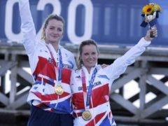 Hannah Mills and Eilidh McIntyre ensured Britain's sailors finished top of the class (Kaoru Soehata/PA)