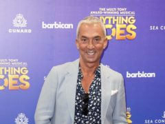 Bruno Tonioli arrives for a performance of Anything Goes (Jonathan Brady/PA)