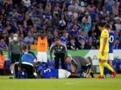 Wesley Fofana suffered a fractured fibula in Leicester's friendly win over Villarreal on Wednesday (David Davies/PA)