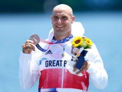 Olympic bronze medallist Liam Heath (Mike Egerton/PA)