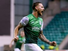 Martin Boyle opened the scoring for Hibs (Andrew Milligan/PA)