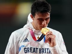 Joseph Choong (pictured) struck modern pentathlon gold for Great Britain on day 15 of the Tokyo Olympics (Adam Davy/PA Images).