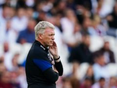 David Moyes will lead West Ham in Europe this season (Aaron Chown/PA)