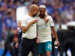 Pep Guardiola admits his side will not be at their best at the start of the season (Nick Potts/PA)