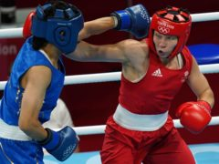 Lauren Price (right) en route to middleweight gold, one of six medals won by the GB boxing squad in Tokyo (Adam Davy/PA Images).