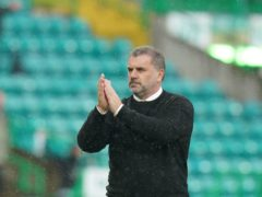 Ange Postecoglou wants to see more progress from Celtic (Jane Barlow/PA)
