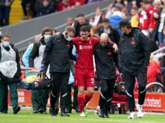 Liverpool's Andy Robertson will miss the start of the Premier League season with an ankle injury (Nick Potts/PA)