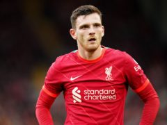 Andy Robertson has an ankle injury (Nick Potts/PA)