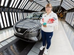 Engineer Anna Nicholson who is competing in the 2020 Paralympic Games in Tokyo (Nissan/PA)