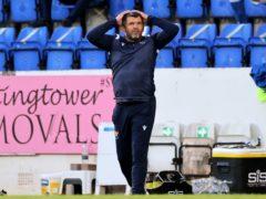 St Johnstone manager Callum Davidson wants a win (Steve Welsh/PA)