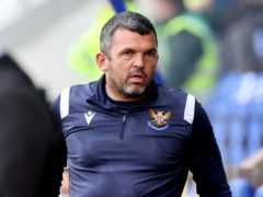 St Johnstone manager Callum Davidson (Steve Welsh/PA)