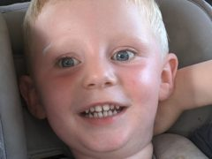 Reid Steele, two, who died in hospital after being found critically injured at a house in Bridgend (South Wales Police/PA)