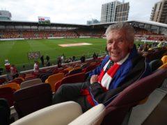 Derek Burridge saw Brentford play Arsenal in 1947 – and on Friday (Nick Potts/PA)