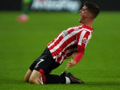 Sergi Canos scored Brentford's first goal in the Premier League (Nick Potts/PA)
