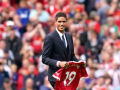 Manchester United manager Ole Gunnar Solskjaer is confident summer signing Raphael Varane can take the next step in his career at Old Trafford (Martin Rickett/PA)