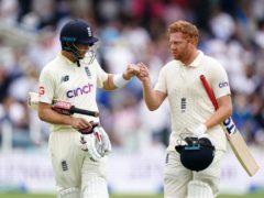 Joe Root and Jonny Bairstow frustrated India (Zac Goodwin/PA)