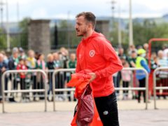 Andy Halliday suffered an injury at Celtic Park (Steve Welsh/PA)