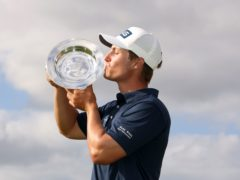 Calum Hill recovered from an early bogey to take the title (Steven Paston/PA)