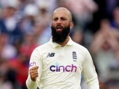 Moeen Ali made a couple of important breakthroughs late in the day (Zac Goodwin/PA)
