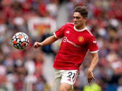Daniel James has left Manchester United for Leeds (Martin Rickett/PA)