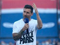 Lionel Messi is set to make his Paris St Germain debut (Francois Mori/AP)
