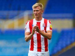 Sam Surridge scored Stoke's second (Barrington Coombs/PA)