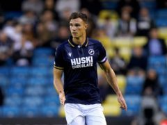 Jake Cooper got Millwall's late winner (Kirsty O'Connor/PA)