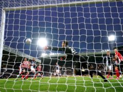 Jack Robinson's own goal opened the scoring as West Brom beat Sheffield United 4-0 (Nick Potts/PA)