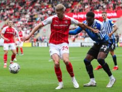 Michael Smith hit both goals for Rotherham (Isaac Parkin/PA)