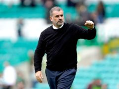 Ange Postecoglou realises the extra significance of facing Rangers (Andrew Milligan/PA)
