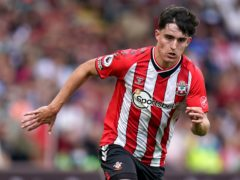Ralph Hasenhuttl has heaped both praise and caution on Tino Livramento (pictured) after a fine start at Southampton (Andrew Matthews/PA)