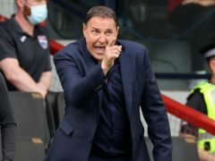 Malky Mackay's Ross County will travel to Aberdeen this weekend (Steve Welsh/PA)