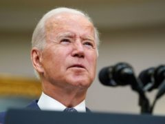 Democratic leaders in the House of Representatives have compromised with moderates to muscle US President Joe Biden's 3.5 trillion dollar (£2.5 trillion) budget blueprint over a key hurdle (Susan Walsh/AP)