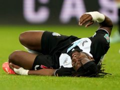 Newcastle's Allan Saint-Maximin is expected to be fit to face Southampton (Owen Humphreys/PA)