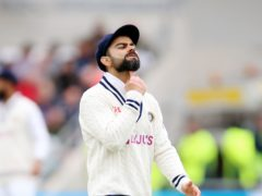 Virat Kohli has vowed to bounce back strong from defeat (Nigel French/PA)