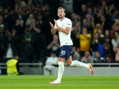 Harry Kane enjoyed the perfect return to the Tottenham side (Adam Davy/PA)