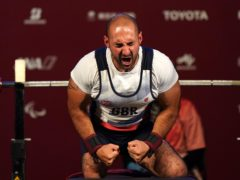 Great Britain's Ali Jawad finished sixth in the men's -59 kg powerlifting final (Tim Goode/PA)
