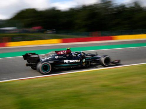 Valtteri Bottas finished fastest in first practice (Francisco Seco/AP)