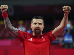 Table Tennis player Will Bayley ended up with silver (imagecomms/ParalympicsGB)
