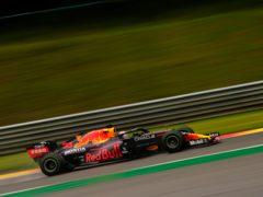 Max Verstappen ended the running on top of the time charts (Francisco Seco/AP)