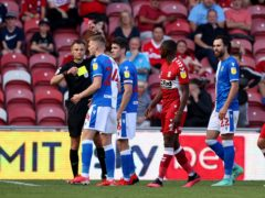 Both Middlesbrough and Blackburn ended the game with 10 men (Richard Sellers/PA)