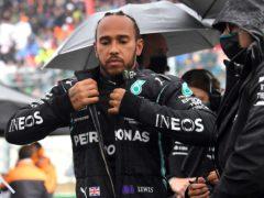 "Lewis Hamilton feels the Belgian Grand Prix turned into a ""farce (John Thys/AP)"