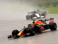 Max Verstappen was awarded a half-points victory in Belgium (Francisco Seco/PA)