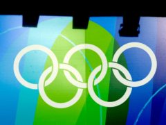 The Olympic rings (Rebecca Naden/PA)