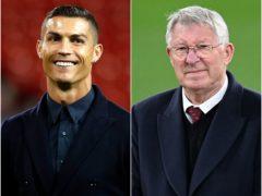 Cristiano Ronaldo, left, was lured back to Old Trafford by Sir Alex Ferguson, right (Martin Rickett/Rafal Oleksiewicz/PA)