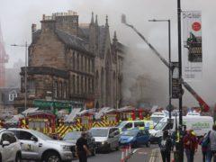 Nine fire engines are on scene (Matt Donlan/PA)