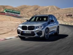 The X3 M features a hugely powerful engine
