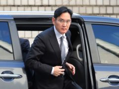 Samsung Electronics vice chairman Lee Jae-yong (Ahn Young-joon/AP)
